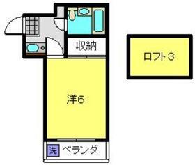 ルナ・レガーロ1階Fの間取り画像