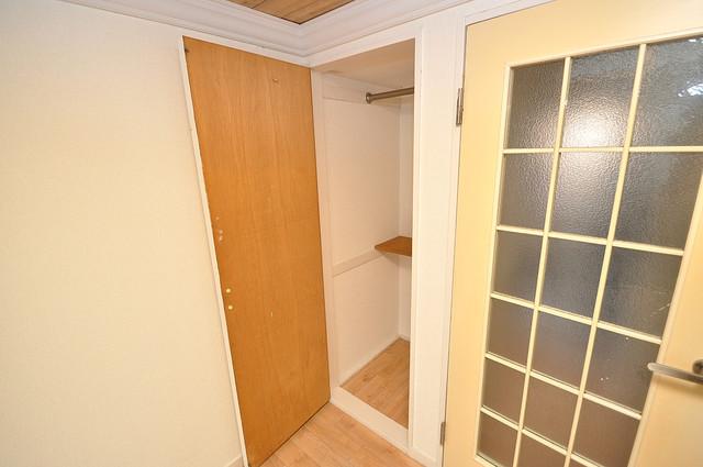 レオパレス布施  もちろん収納スペースも確保。おかげでお部屋の中がスッキリ。