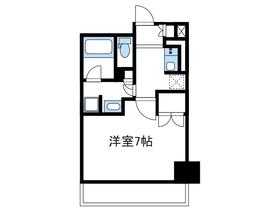 リージア海老名ビナフロント7階Fの間取り画像