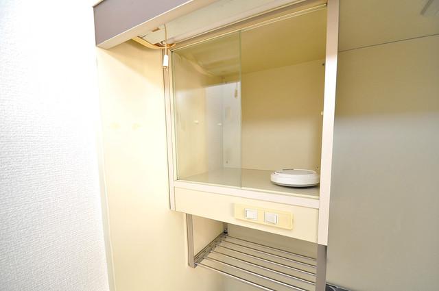 ハイツ南の風 キッチン棚も付いていて食器収納も困りませんね。