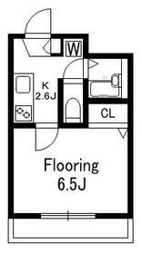 アステラ・キョーエー2階Fの間取り画像