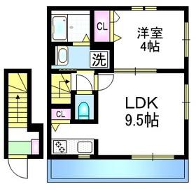 KAGURA2階Fの間取り画像