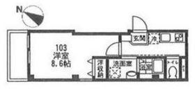 ルミエール横濱1階Fの間取り画像