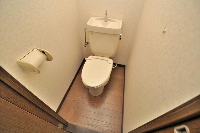 高井田ル・グラン 清潔感たっぷりのトイレです。入るとホッとする、そんな空間。