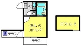 日吉本町駅 徒歩28分1階Fの間取り画像