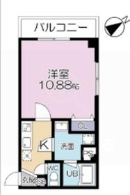 LOC'S WADAMACHI4階Fの間取り画像