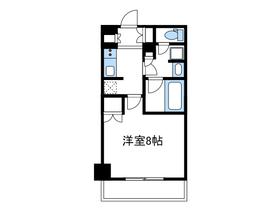 リージア海老名ビナフロント6階Fの間取り画像
