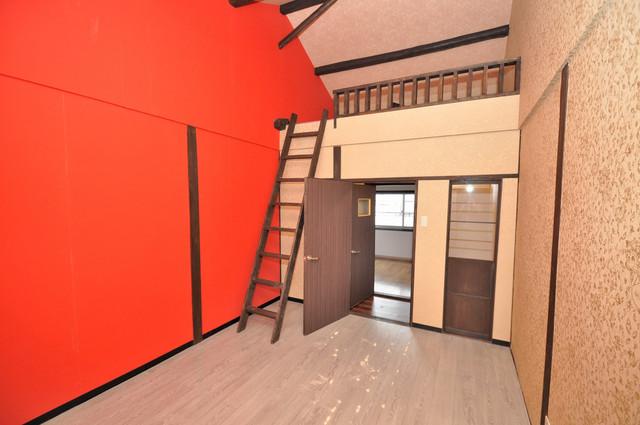 エフェクティブハウス布施 天井が高く圧迫感がありません。体感はもっと広いです。