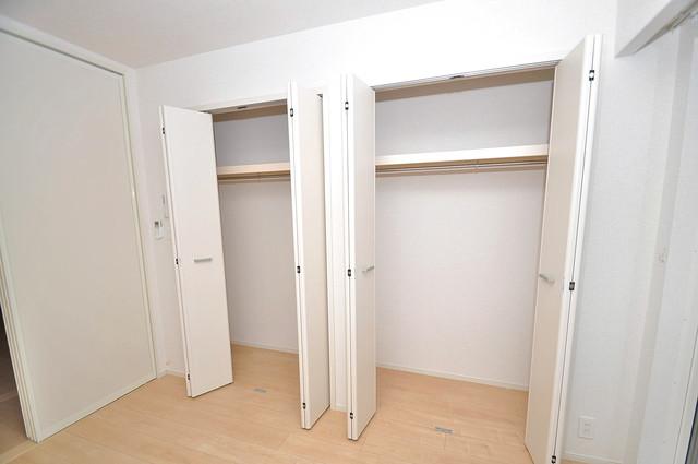 COCORO もちろん収納スペースも確保。いたれりつくせりのお部屋です。
