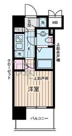 ヴェルステージ川崎10階Fの間取り画像