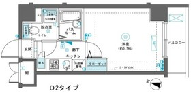 フェニックス横濱吉野町8階Fの間取り画像