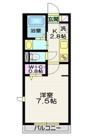 長原駅 徒歩11分1階Fの間取り画像