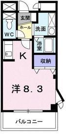 セルフィール AKAYAMA3階Fの間取り画像