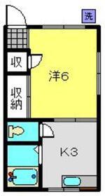 サンビレイ11階Fの間取り画像