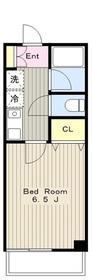 高座渋谷駅 徒歩1分2階Fの間取り画像