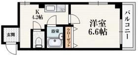 笹塚駅 徒歩3分2階Fの間取り画像