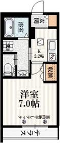 阿佐ヶ谷駅 徒歩5分1階Fの間取り画像