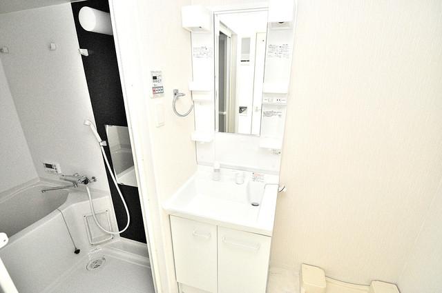 ベルンガーデン巽 忙しい朝にあなたを手助けしてくれる素敵な洗面台。