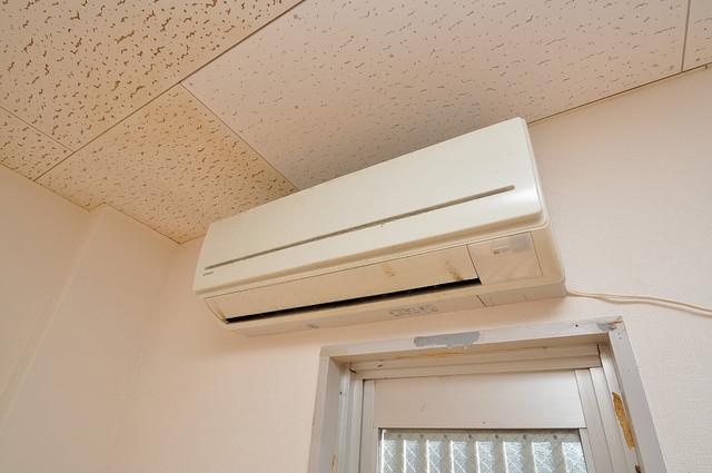 センチュリーシティⅠ エアコンが最初からついているなんて、本当に助かりますね。