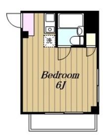 ジュネパレス相模原第213階Fの間取り画像