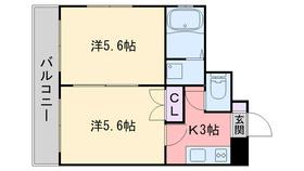 イスタナ藤崎3階Fの間取り画像