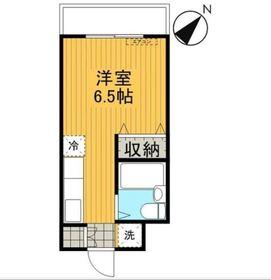 鶴ヶ峰駅 バス10分「川井宿」徒歩1分2階Fの間取り画像
