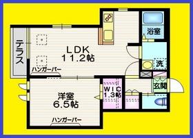 ソウルメイト富士見台1階Fの間取り画像
