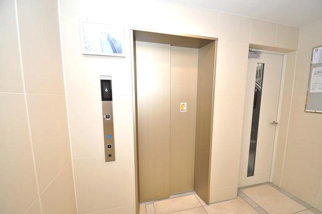 Grand Regis 嬉しい事にエレベーターがあります。重い荷物を持っていても安心