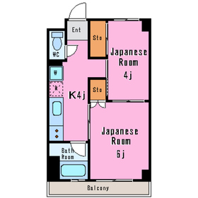 セレーノ5階Fの間取り画像