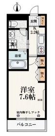 エルフメゾン3階Fの間取り画像