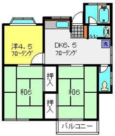 南希レジデンスA棟1階Fの間取り画像
