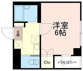 稲城蔵ビル2階Fの間取り画像