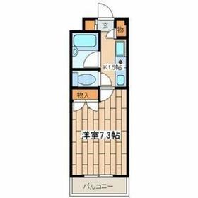 尻手駅 徒歩5分4階Fの間取り画像