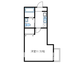 ラカーサフェリーチェ3階Fの間取り画像