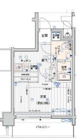 メインステージ横浜3階Fの間取り画像
