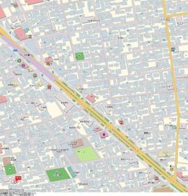 要町駅 徒歩11分案内図