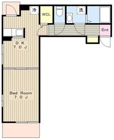 リコビーナ3階Fの間取り画像