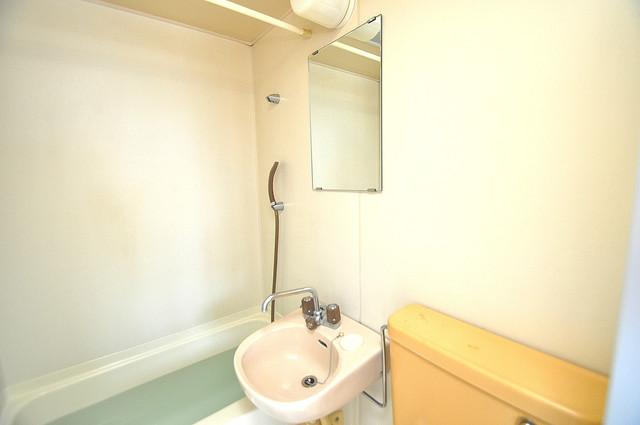 ハイム上小阪 可愛いいサイズの洗面台ですが、機能性はすごいんですよ。