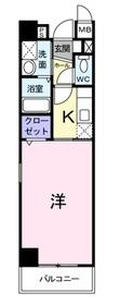 長津田駅 徒歩10分5階Fの間取り画像