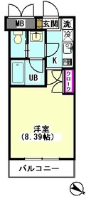 ハイネスエイト 406号室