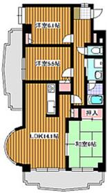地下鉄成増駅 徒歩10分7階Fの間取り画像
