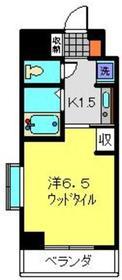 ヴァンテベール7階Fの間取り画像