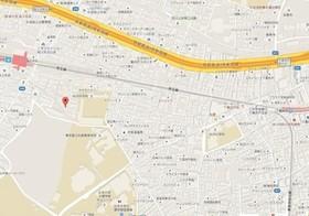 上北沢駅 徒歩15分案内図