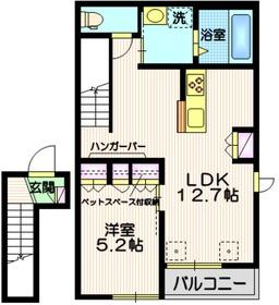 (仮称)田園調布5丁目メゾン2階Fの間取り画像
