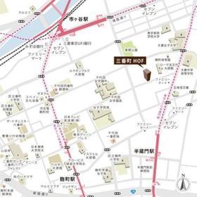 三番町HOF案内図