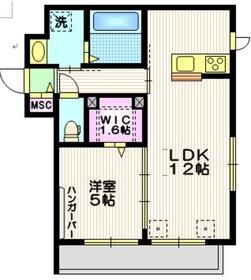 駒沢大学駅 徒歩8分2階Fの間取り画像