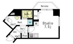 アーバイル九段下ミッドシティ3階Fの間取り画像