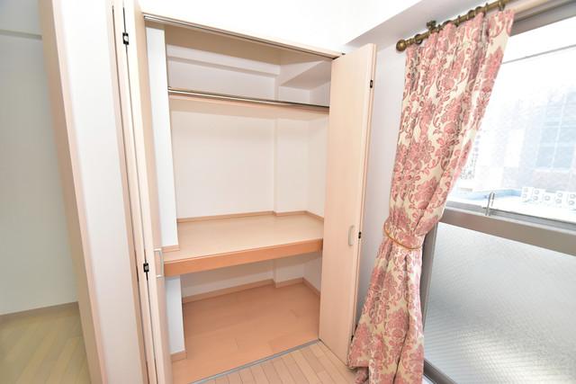 カインド高井田 もちろん収納スペースも確保。いたれりつくせりのお部屋です。