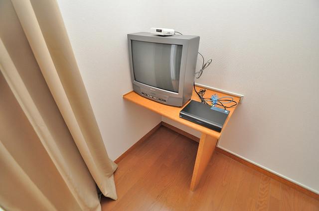 レオパレス今津 TVもついていて、すぐに見れますよ。