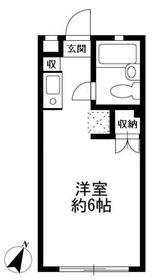 COURT・ZEN1階Fの間取り画像